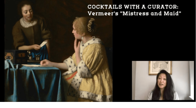 "Cocktails With A Curator: Vermeer's ""Mistress And Maid"" (The Frick Video)"