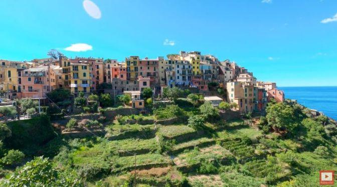 Walking Tours: 'Corniglia Cinque Terre, Italy' (Video)
