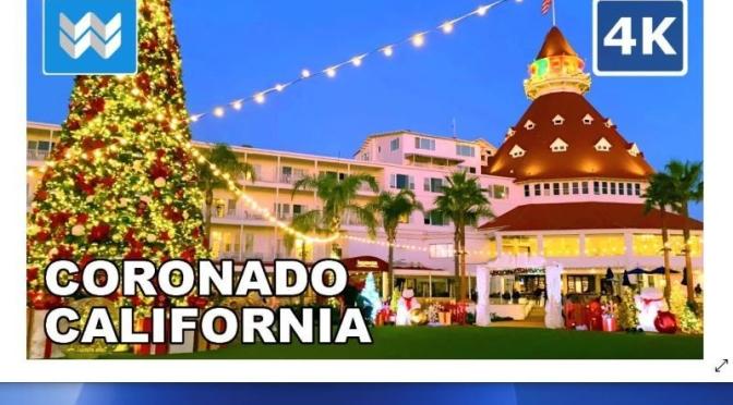 Walking Tour: Coronado Island, San Diego (Video)