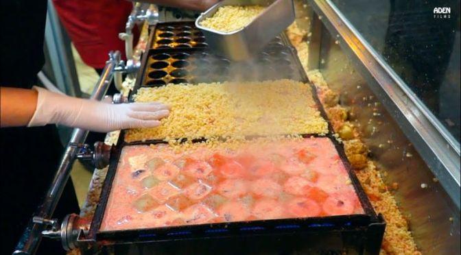 Top Street Food: 'Crunchy Takoyaki' In Osaka, Japan