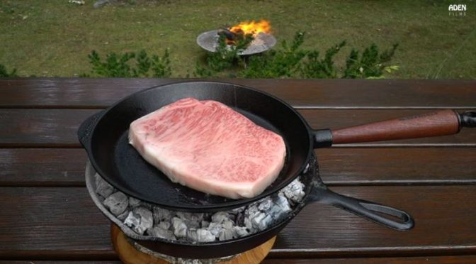 Culinary BBQ: Cooking A 'Kagoshima A5 Wagyu' – The World's Finest Steak