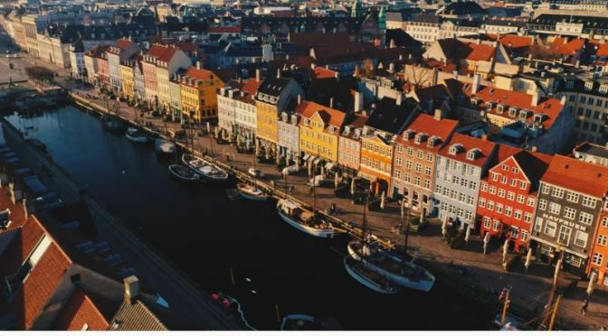 Aerial Views: 'Copenhagen' In Denmark' (Video)