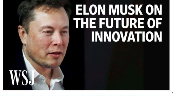 Video Interview: Elon Musk On Tesla & The Future Of Innovation