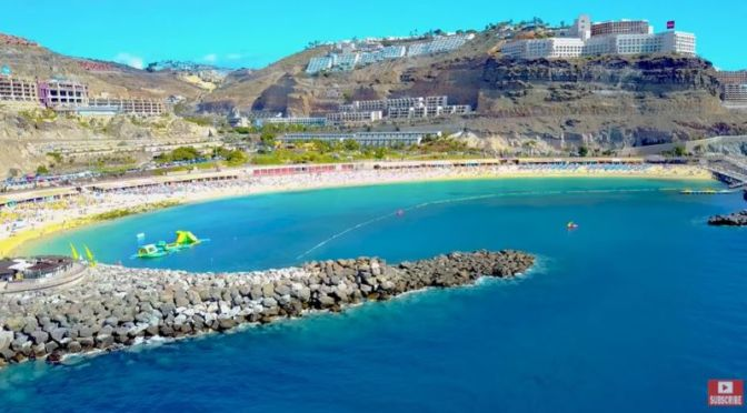 Aerial Travel: 'Gran Canaria, Spain' (Video)