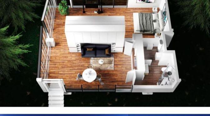 Future Of Housing: An 'Autonomous Off-Grid Smart Home Interior'