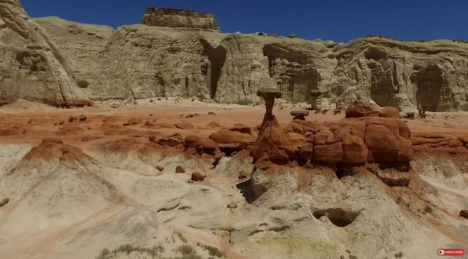 Hiking: 'Grand Staircase-Escalante National Monument', Utah (Video)