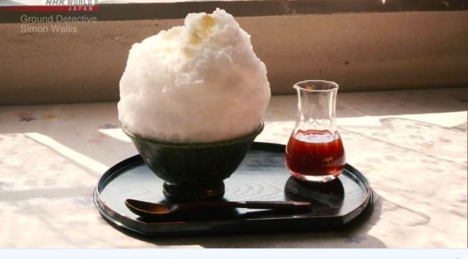 Travel & History: Source Of Water For 'Kakigori' Shaved Ice In Japan (Video)