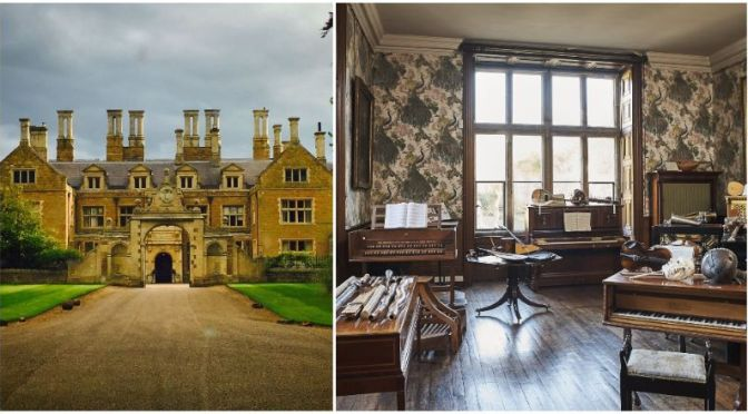 Estate Tours: The Rare Musical Instruments Of Holdenby House, England