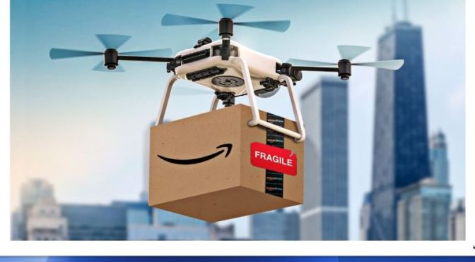 Online Shopping: 'How Amazon Drone Delivery Will Look & Work' (Video)