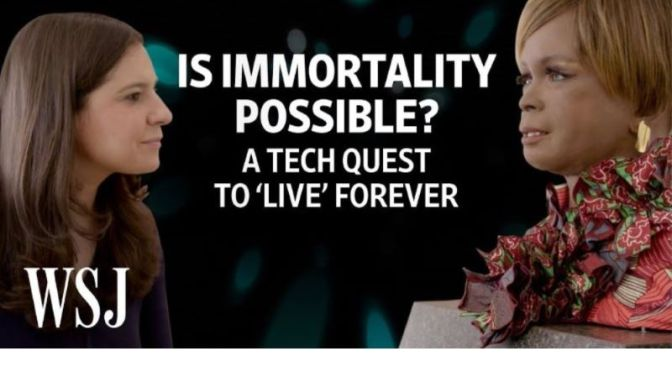 Digital Life: 'Is Immortality Possible?' – Capturing Our Memories For Future Generations (WSJ Video)
