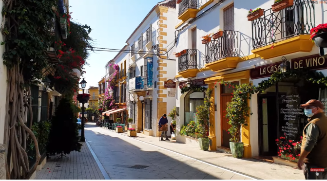 Walking Tours: 'Marbella – Southern Spain' (Video)