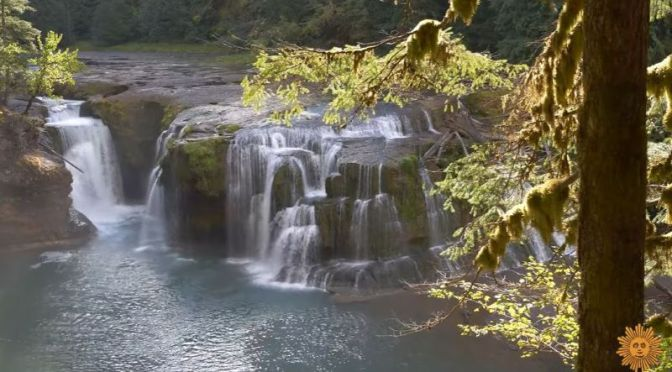 Wilderness Travel: Lower Lewis River Waterfalls In Washington State (Video)