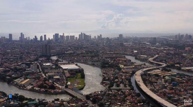 Aerial Travel Video: 'Manila – Philippines'