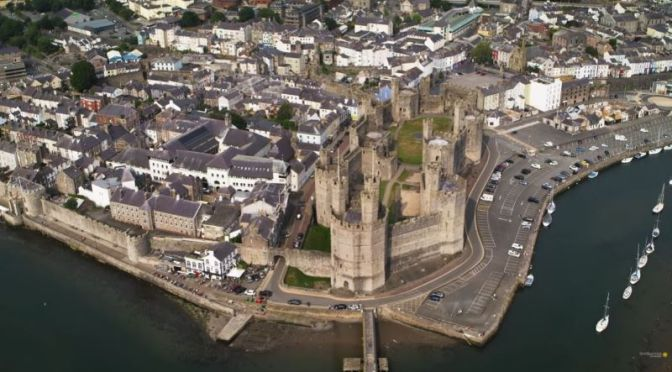 Aerial Travel & History: The 'Medieval Castles Of Wales' (Smithsonian Video)