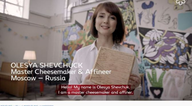 Food & Travel: Master Cheesemaker Olesya Shevchuck In Moscow