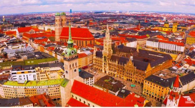 Aerial Travel: 'Munich – Germany' (8K UHD Video)