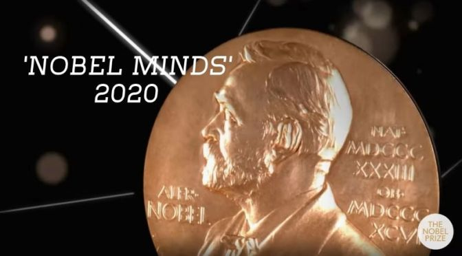 INTERVIEWS: '2020 NOBEL LAUREATES IN PHYSIOLOGY, PEACE, PHYSICS, CHEMISTRY AND ECONOMICS' (VIDEO)