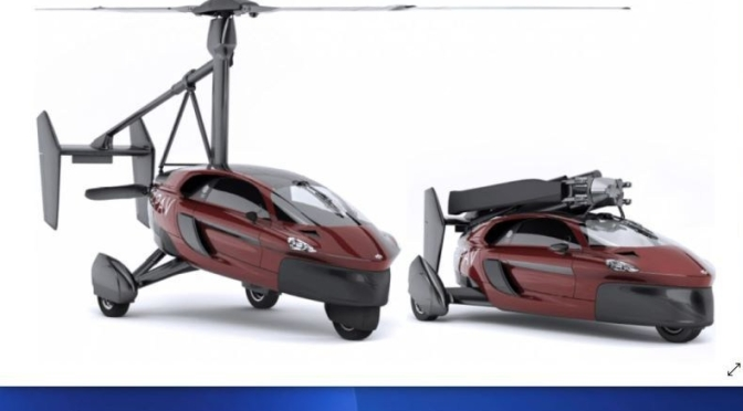 Technology: Dutch 'PAL-V' Is World's First Certified Flying Car (Video)