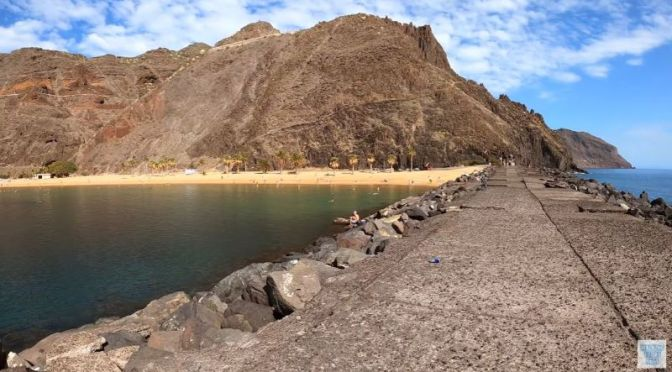 Walking Tours: 'Playa de Las Teresitas' in Tenerife, Canary Islands, Spain