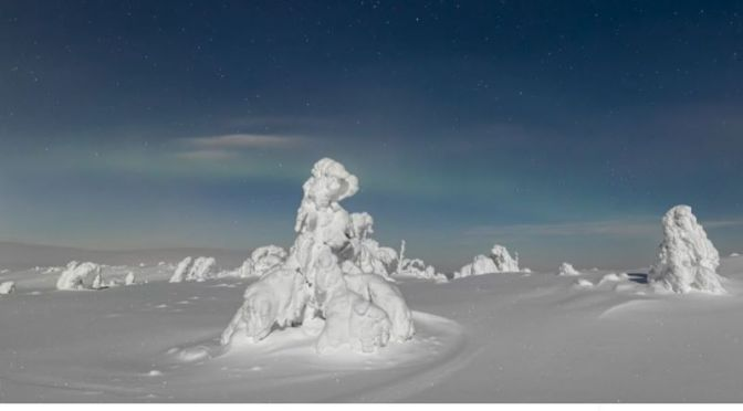 Travel: 'The Polar Night', Lapland, Finland (Video)