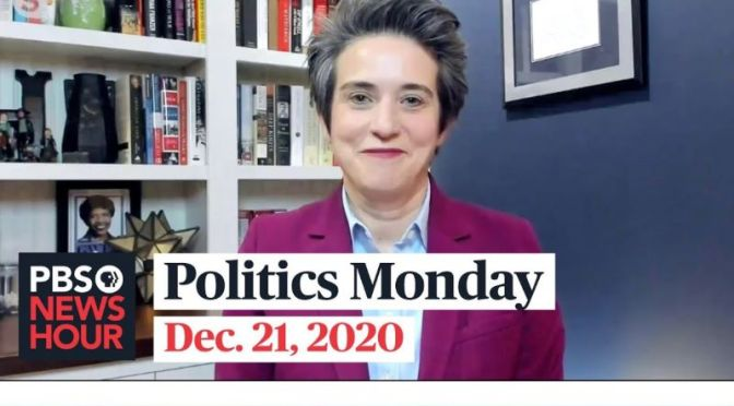 Politics Monday: Tamara Keith And Amy Walter On Stimulus Bill Vote (Video)