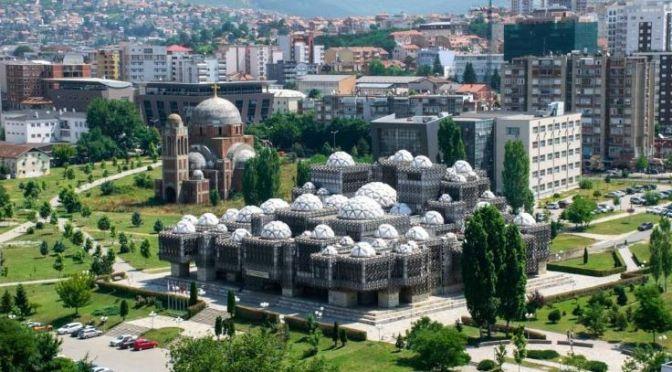 Aerial Travel: 'Pristina – Capital Of Kosovo' (Video)