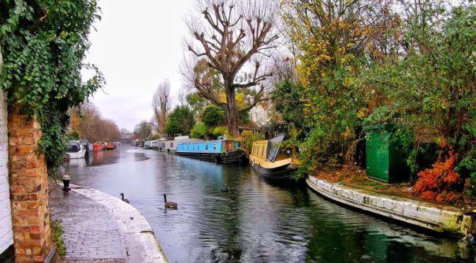 Walking Tour Video: Little Venice Canal In London