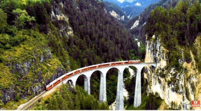 Top Train Travel: 'Glacier Express' In Switzerland