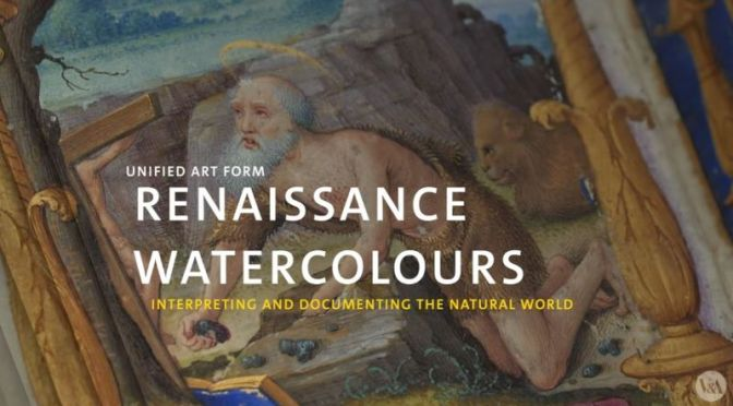 Art History: 'Watercolor In The Renaissance' (Video)