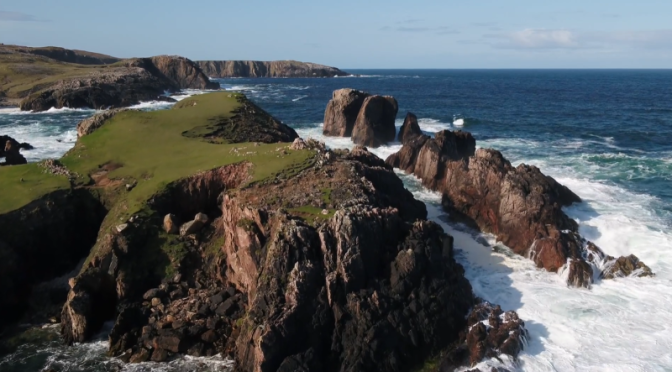 Aerial Travel: 'Return To Isle of Lewis' In Scotland