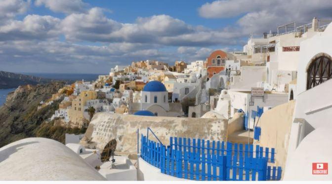 Travel: 'Santorini Island', Aegean Sea, Greece (Video)