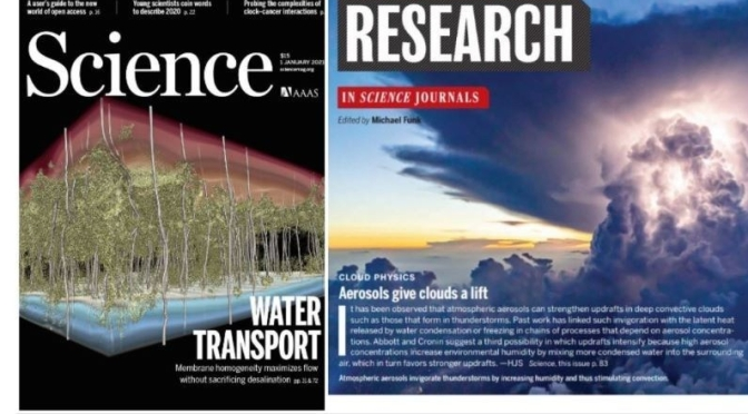 TOP JOURNALS: RESEARCH HIGHLIGHTS FROM SCIENCE MAGAZINE (Jan 1, 2021)