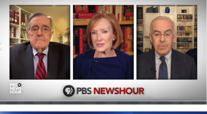 "Political News: 'Shields & Brooks"" On Texas Election Challenge (PBS Video)"