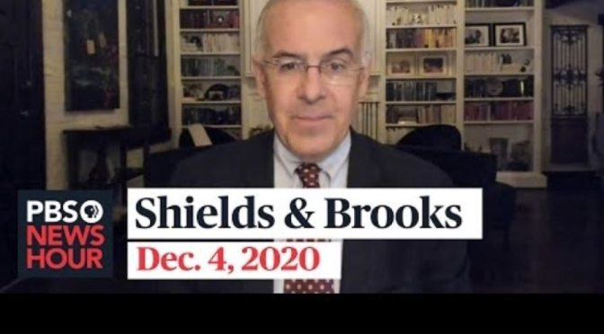 Political News: 'Shields & Brooks' On The Biden Transition And Cabinet