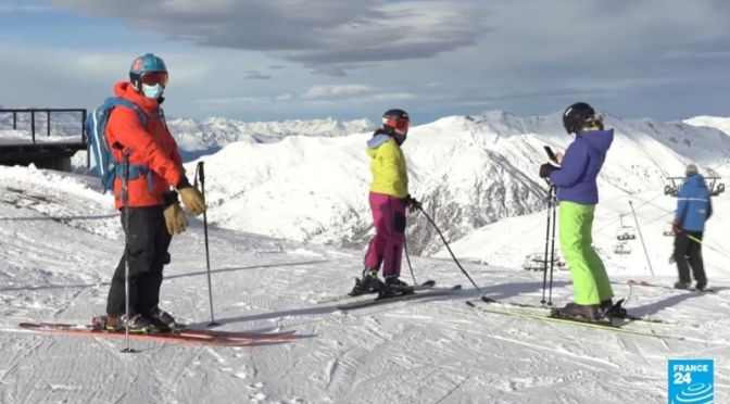 Travel & Sport: Skiing In The Pyrenees Of Spain