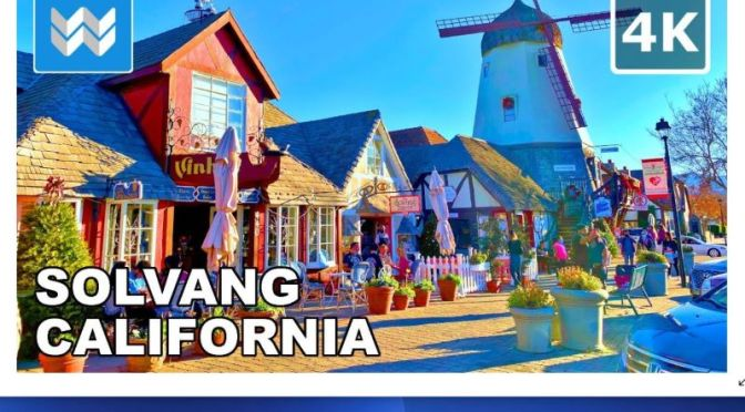 Walking Tours: 'Solvang – California' (Video)