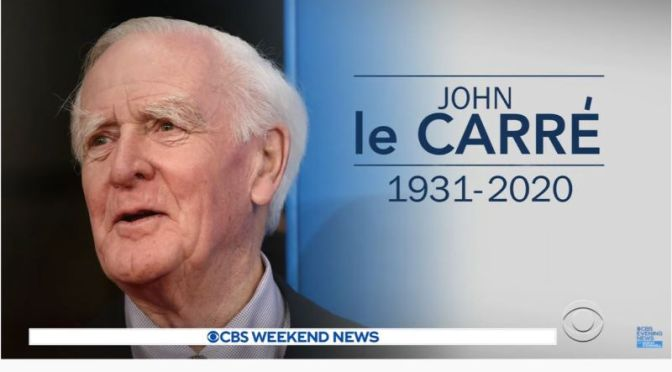 Tributes: British Author John le Carré (1931-2020)