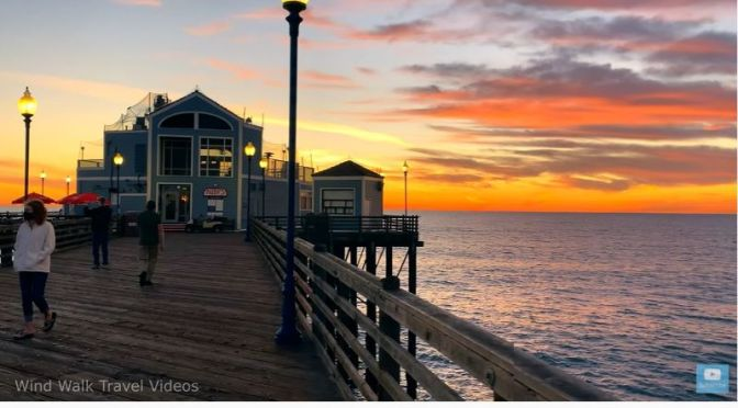 Sunset Walks: 'Oceanside Pier – California' (Video)
