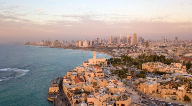 Walking Tours: 'Tel Aviv' On Mediterranean, Israel