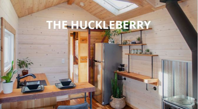 "Tiny Home Tours: 'The Huckleberry' By Rewild Homes – ""Extra-Wide"""