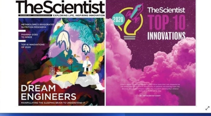 Digital Magazines: 'The Scientist – December 2020'