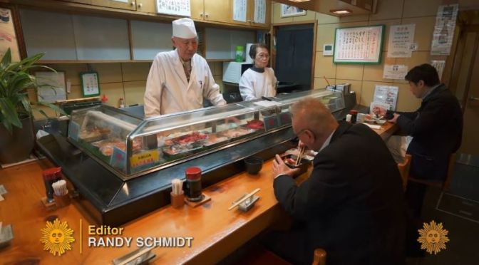 Food & Culture: 'Demise Of The Traditional Sushi Restaurant' In Japan