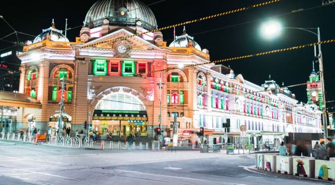 Timelapse Travel Video: 'Christmas Festival In Melbourne, Australia'