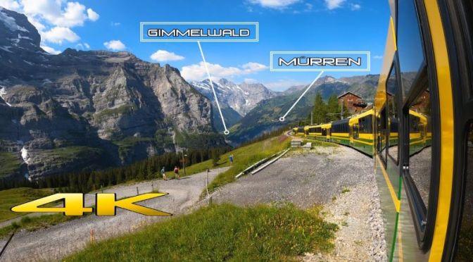 Train Travel: Grindelwald To Lauterbrunnen In Switzerland (Video)