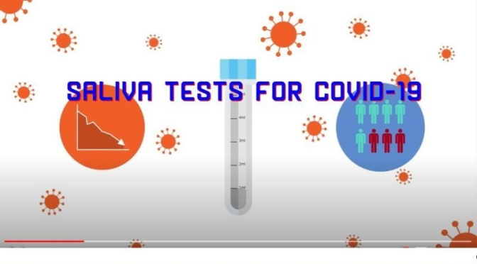 Health: What Are 'Saliva Tests For Covid-19'? (Video)