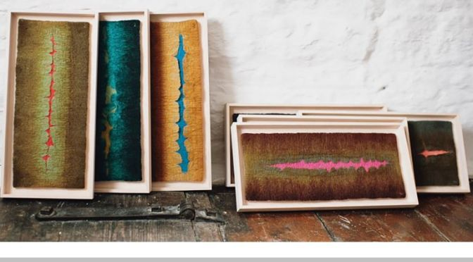 Profile Video: French-English Textile Artist 'Valerie Wartelle'