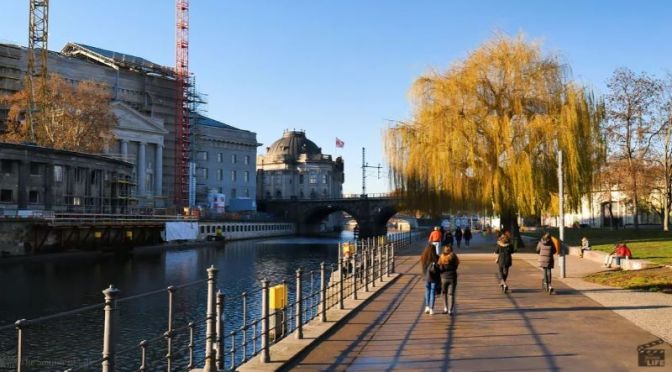 Walking Tour: 'Spree River In Berlin, Germany' (Video)