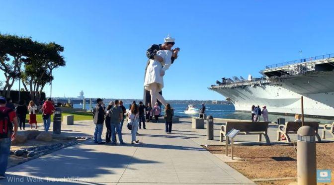 Walking Tours: Harbor &  Embarcadero of San Diego, California (Video)