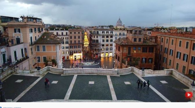 Walking Tours: 'Spanish Steps In Rome' (Video)