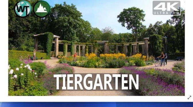 Walking Tour: 'Tiergarten' –  Best Public Park In Berlin, Germany (Video)